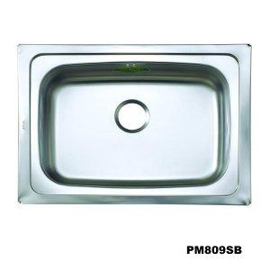 อ่างซิงค์1หลุม สะดือB-PM809SB