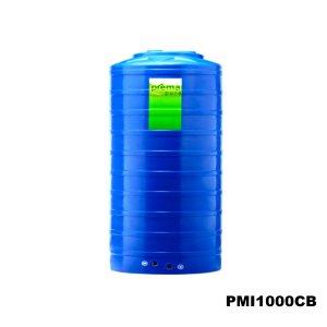 ถังเก็บน้ำบนดิน PREMA สีฟ้า ขนาด 1000 ลิตร