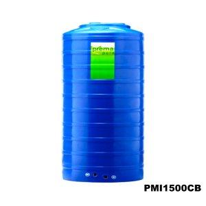 ถังเก็บน้ำบนดิน PREMA สีฟ้า ขนาด 1500 ลิตร