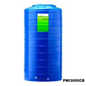 ถังเก็บน้ำบนดิน PREMA สีฟ้า ขนาด 3000 ลิตร