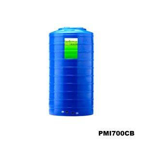 ถังเก็บน้ำบนดิน PREMA สีฟ้า ขนาด 700 ลิตร