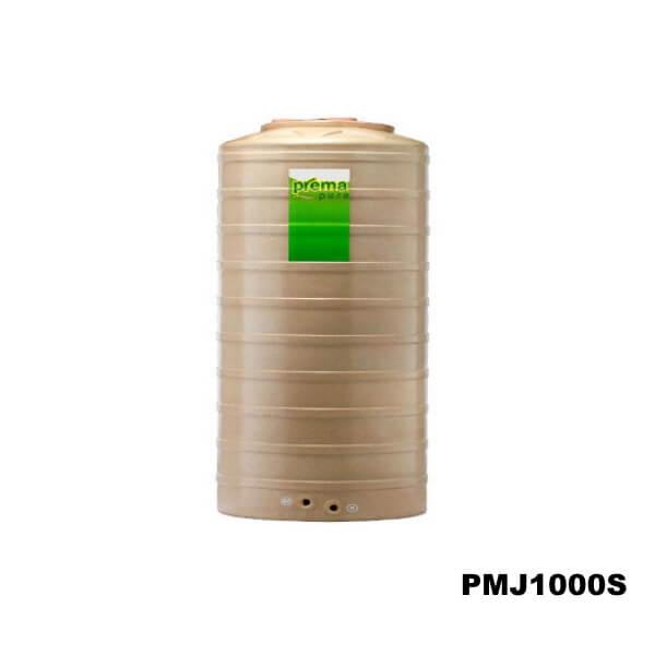 ถังเก็บน้ำบนดิน PREMA สีแซนด์สโตน ขนาด 1000 ลิตร