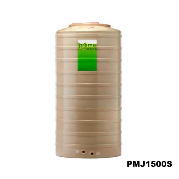 ถังเก็บน้ำบนดิน PREMA สีแซนด์สโตน ขนาด 1500 ลิตร