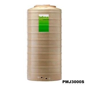ถังเก็บน้ำบนดิน PREMA สีแซนด์สโตน ขนาด 3000 ลิตร