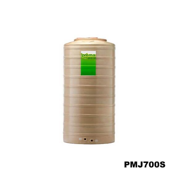 ถังเก็บน้ำบนดิน PREMA สีแซนด์สโตน ขนาด 700 ลิตร
