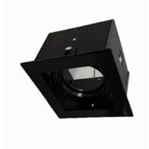 โคมไฟ DOWNLIGHT เดี่ยวแบบฝังฝ้า MDL01BK สีดำ
