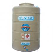 ถังเก็บน้ำ AQUA CLEAR 2000 ลิตร สีเทา