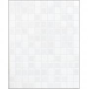 กระเบื้องบุผนังโสสุโก้ ลายประกายเพชร-ขาว 8×10 นิ้ว