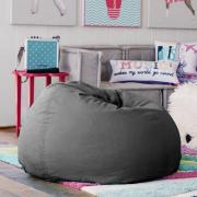 BeanBag Chair ทรงกลม หยดน้ำ canvas สีพื้น สี12