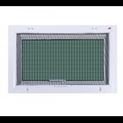 UNIX EXTRA 80×50 ซม. หน้าต่างบานกระทุ้ง สีขาว