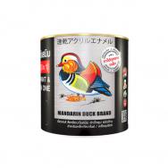 Mandarin duck เป็ดหงส์ สีเคลือบกันสนิมสำเร็จรูป 2in1 M010