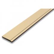 ไม้เชิงชาย สมาร์ทวูด ตราช้าง ขนาด 15x300x1.6 ซม. สีรองพื้นครีม