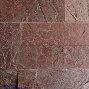 หินตกแต่งผนัง ควอตไซต์คอปเปอร์ Copper Quartzite 6×20 ซม.