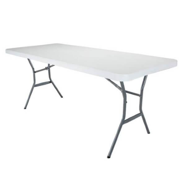โต๊ะพลาสติก LIFETIME 1.8 ม พับครึ่ง
