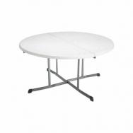 โต๊ะกลมพลาสติกพับได้ กว้าง 153 ซม LIFETIME USA