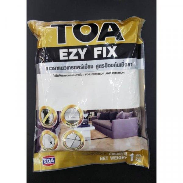 กาวยาแนวเกรดพรีเมี่ยม TOA EZY FIX สูตรป้องกันเชื้อรา