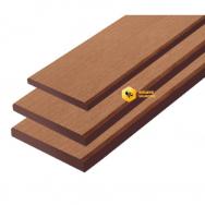 ไม้รั้ว รุ่นลายไม้ ยาว 4ม. สีรองพื้น SCG