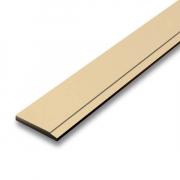 ไม้เชิงชายSCG สีรองพื้นครีม หนา 1.6ซม ผิวเรียบ