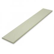 ไม้ระแนง สีรองพื้นครีม 7.5x300x0.8 ซม. SCG