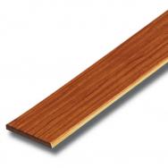 ไม้ระแนง ลายไม้สักทองประกายเงาพลัส 7.5x300x0.8ซม. SCG