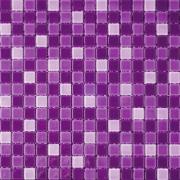 COTTO โมเสค กลาส เบลนด์ 07 ม่วง(06S)GA (จำนวน 1 แผ่น)