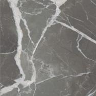 STONES & MORE 2.0 Stone Calacatta Black Glossy 120X120 cm. (6 mm.)