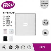 แผ่นกรองฝุ่น HEPA Filter เครื่องฟอกอากาศ Sharp