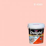 สีน้ำอะครีลิก ภายนอก E-8305 ดีไลท์ Plcasant Pink