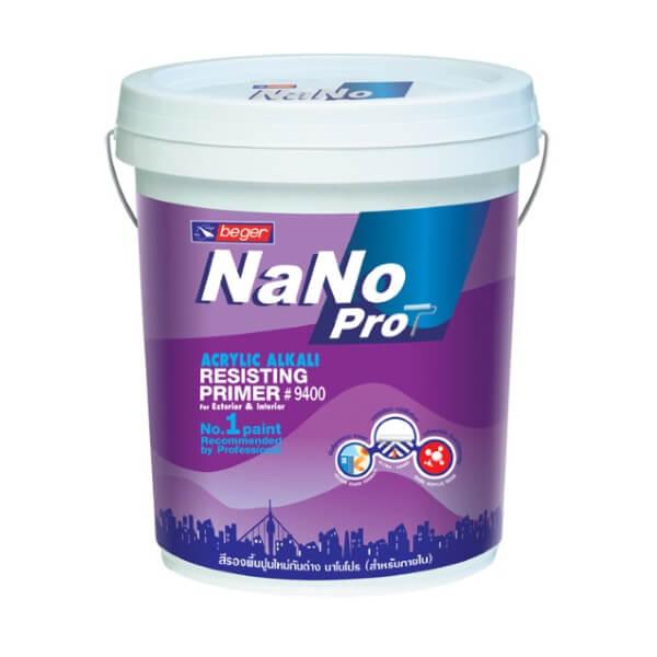 NANO Pro 9400 สีรองพื้นปูนกันด่างอะคริลิก