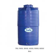 ถังน้ำบนดิน PE สีน้ำเงิน 750-6000ลิตร Safe