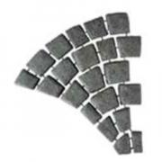 SCG บล็อกปูพื้น พัดซ้าย ผิวพ่นทราย คาร์เพท สโตน ขนาด 60.5×56.25×3.5 ซม.