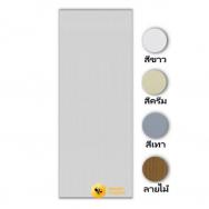 ประตูรุ่น THAIDOOR TD-1 บานเรียบ สีขาว 70x180cm. พร้อมวงกบ