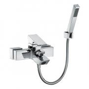 TOTO TX471SI ก๊อกผสมสำหรับลงอ่างอาบน้ำและยืนอาบแบบติดผนัง พร้อมชุดฝักบัวสายอ่อน