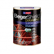 Beger ShieldDiamond สีน้ำมันเคลือบเงา 1 กล. เบส A