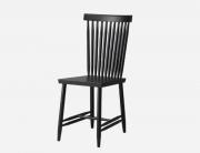 เก้าอี้ไม้ Family chairs black no.2