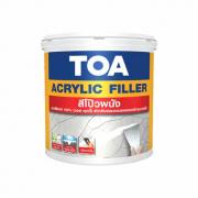 TOA Acrylic filler สีโป๊วผนัง (วอลล์พุตตี้)